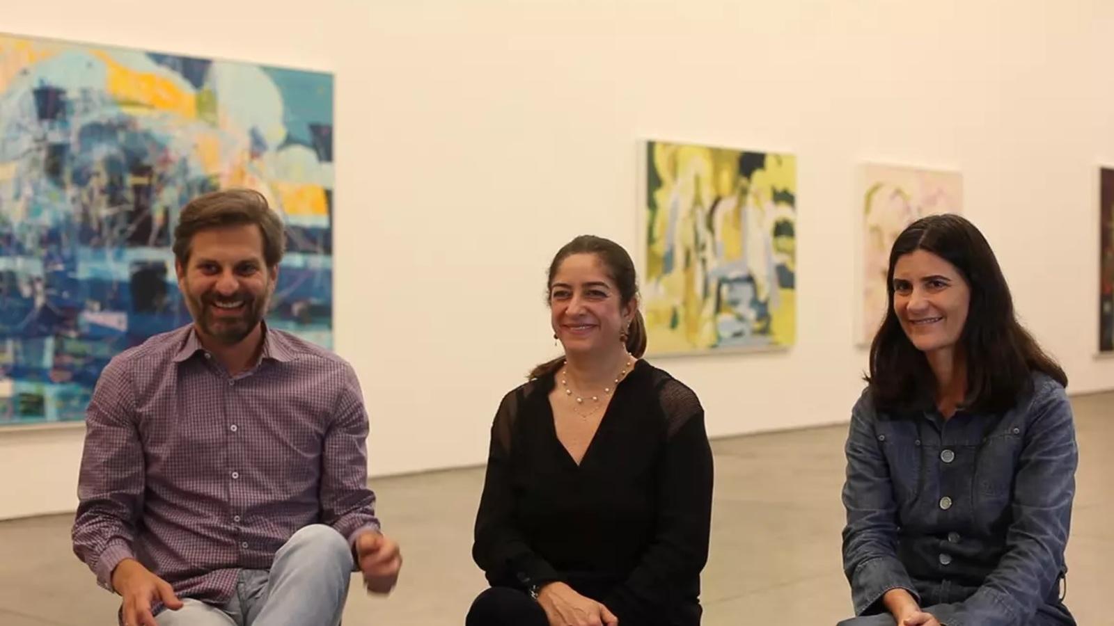 Márcia Fortes, Alessandra D'Aloia and Alexandre Gabriel
