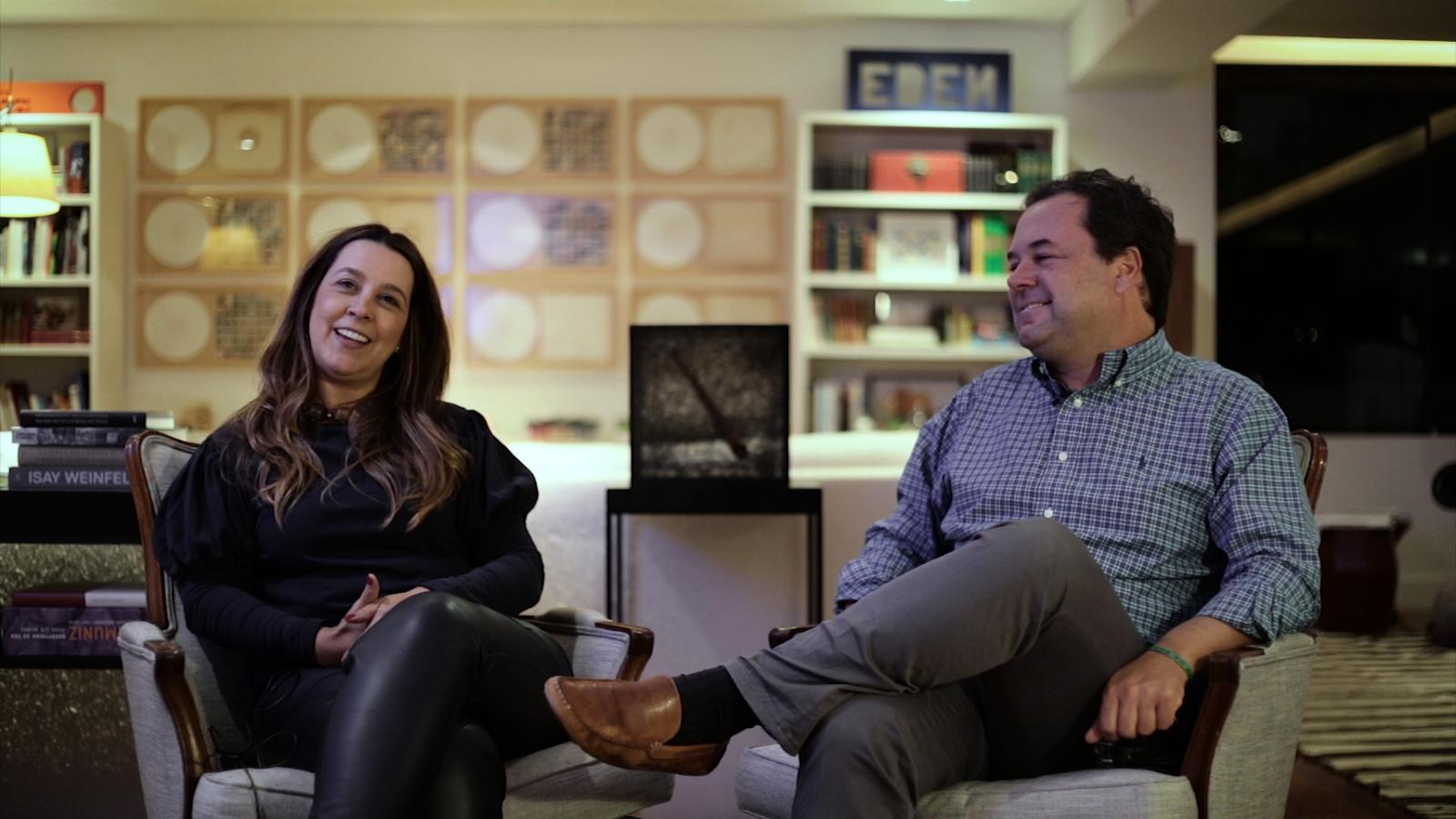 Georgiana Rothier and Bernardo Faria